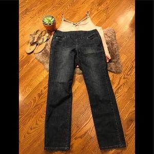 Jag Jeans size 16 high rise slim leg EUC